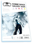 Comic Silver Size bags (Ultimate Guard) (100st)