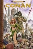 Conan - R.E.Howard Collectie 4 De god in de schaal