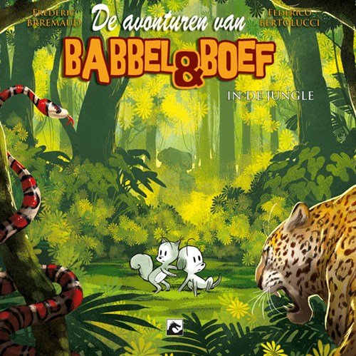 Babbel & Boef - Plaatboek 5 - In de jungle