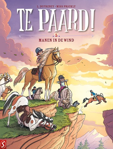 Te paard! 5 - Manen in de wind