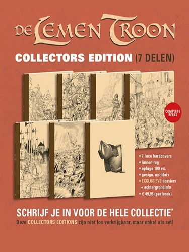 Lemen Troon  - Collectors Edition Compleet + BOX (pre-order)