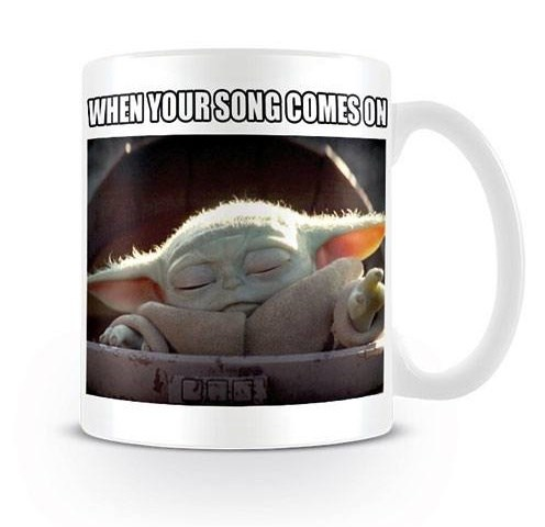 Star Wars The Mandalorian Mug - The Child - When Your Song Comes On