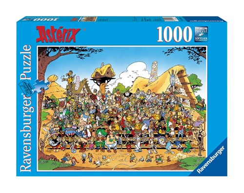 Asterix Jigsaw Puzzle - Family Photo