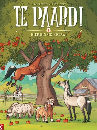Te paard! 1 - Hiep hinnik hoera, Softcover (Silvester Strips & Specialities)