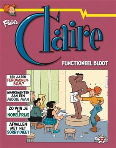 Claire 27 - Functioneel bloot, Softcover (Divo)