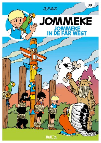 Jommeke 30 - Jommeke in de Far West, Softcover, Jommeke - Relook (Ballon)