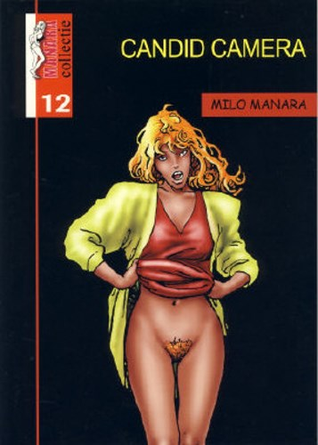 Manara - Collectie 12 - Candid camera, Softcover (maxima)