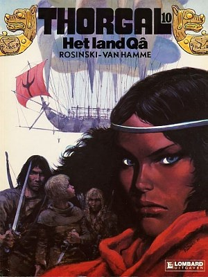 Thorgal 10 - Het land Qâ, Softcover, Thorgal - Softcover (Lombard)