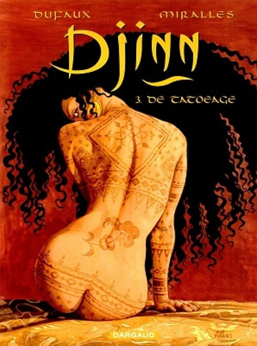 Djinn 3 - De tatoeage, Softcover (Dargaud)