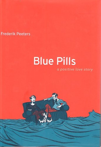 Frederik Peeters - Collectie  - Blue Pills, Hardcover (Houghton Mifflin)