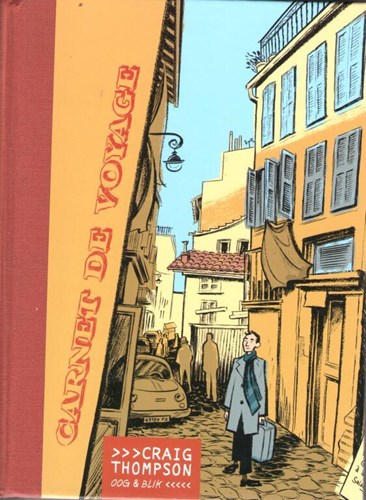 Craig Thompson - collectie  - Carnet de voyage, Hardcover (Oog & Blik)