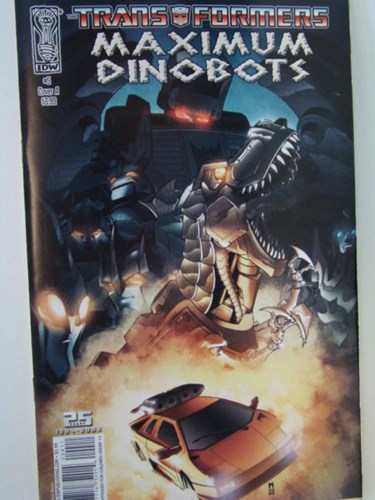 Transformers - Maximum dinobots 5 - Maximum Dinobots, Softcover (Diamonds)