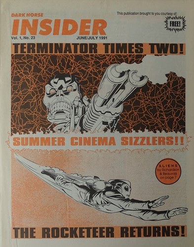 Insider Volume - 1 23 - Terminator times two, Softcover (Dark Horse Comics)