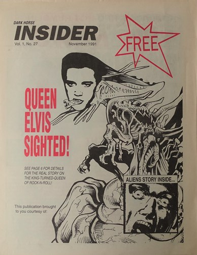 Insider Volume - 1 27 - Queen Elvis sighted, Softcover (Dark Horse Comics)