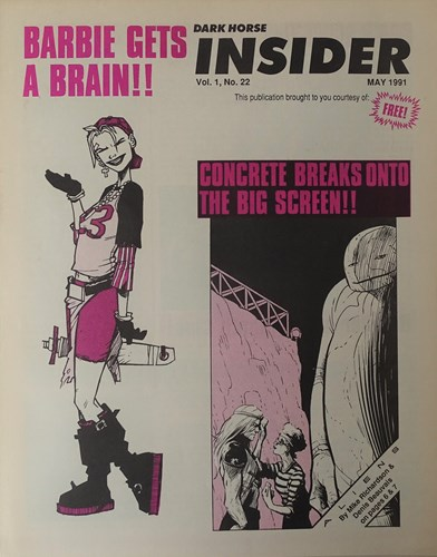 Insider Volume - 1 22 - Barbie gets a brain, Softcover (Dark Horse Comics)